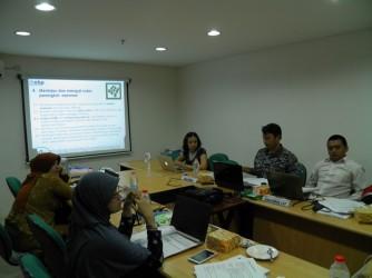 Pelatihan mengembangkan perangkat asesmen Lembaga